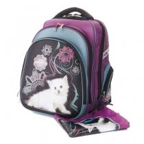 """Ранец рюкзак для школы """"ACROSS""""+ Мешок+Брелок ACR14-203-2"""