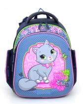 Школьный рюкзак для девочки Hummingbird Kids TK2 Chic Cat