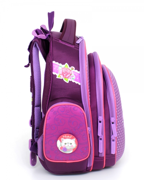a6cde9343669 Рюкзак школьный ортопедический для 1 класса для девочек Hummingbird ...