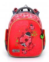 Ранец рюкзак для дошкольника и первоклассника с ортопедической спинкой Hummingbird Kids TK7 Little Lady 2016