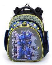 Школьный рюкзак для мальчика Hummingbird Kids TK16 Cyclops