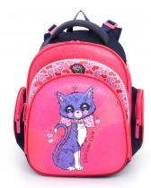 Школьный рюкзак для девочки Hummingbird Kids TK18 Patrician cats