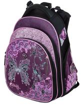 27312174f79f Школьный рюкзак для девочки с ортопедической спинкой Hummingbird Teens T86  Butterfly Flowers