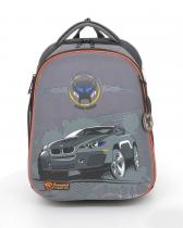 Школьный рюкзак для мальчика с ортопедической спинкой Hummingbird Teens T5 Wolf Style