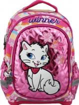 Школьный рюкзак для девочки с ортопедической спинкой Winner Kitty