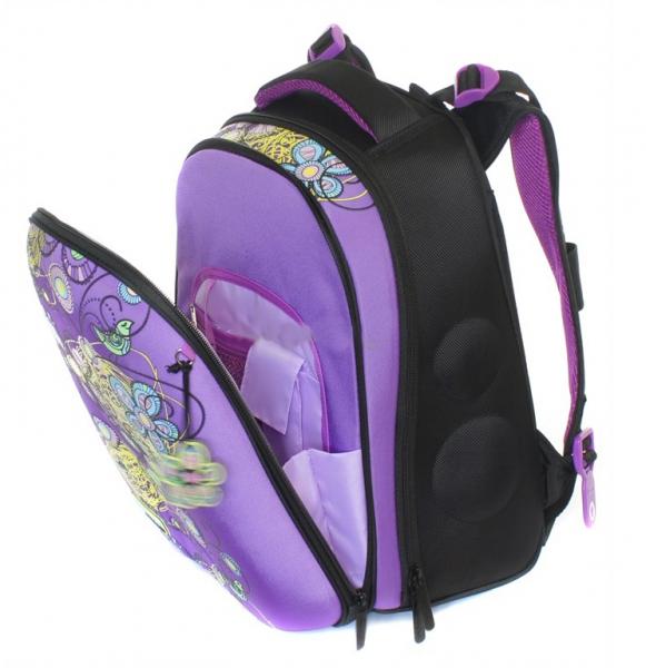 d81de8d049da ... Школьный рюкзак для девочки с ортопедической спинкой Hummingbird Teens  T3 Flower