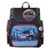 Школьный ранец для мальчика с ортопедической спинкой Hummingbird K20