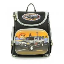 Школьный ранец для мальчика с ортопедической спинкой Hummingbird K23