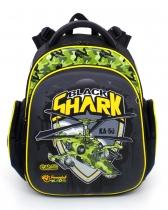 Школьный рюкзак для мальчика Hummingbird Kids TK1 Black Shark