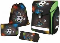 Школьный ортопедический ранец Herlitz Midi Plus Soccer с наполнением 11407790