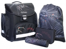 Школьный ранец Herlitz Midi Plus Spider с наполнением 11407640