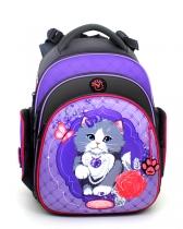 Школьный рюкзак для девочки Hummingbird Kids TK25 Royal Cat