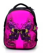 Школьный рюкзак для девочки с ортопедической спинкой Hummingbird Teens T79 Butterfly
