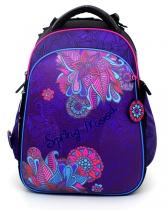 Школьный рюкзак для девочки с ортопедической спинкой Hummingbird Teens T80 Spring Mood