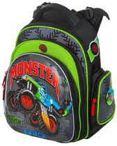 Школьный рюкзак Hummingbird Kids TK44 Monster Truck