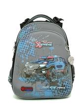 Школьный рюкзак для мальчика с ортопедической спинкой Hummingbird Teens T39 Off Road Extreme